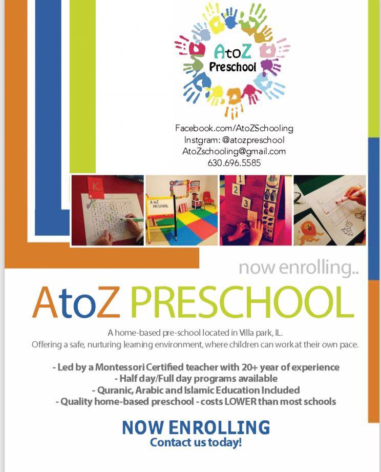 Enroll Your Child Today   AtoZ Preschool
